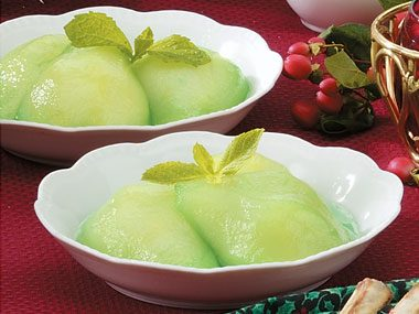 Minted Pears