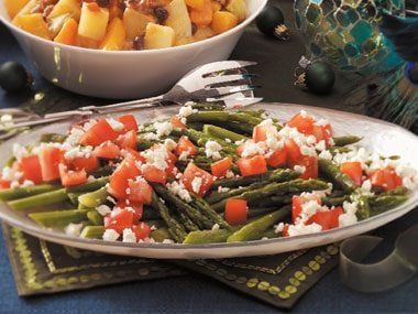 Roasted Asparagus with Feta Recipe