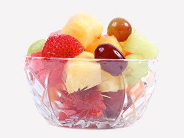 ball game bites fruit cup