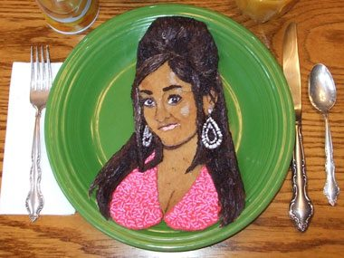 celebrity pancakes Snooki