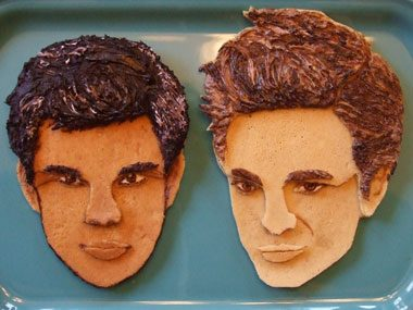 celebrity pancakes Twilight