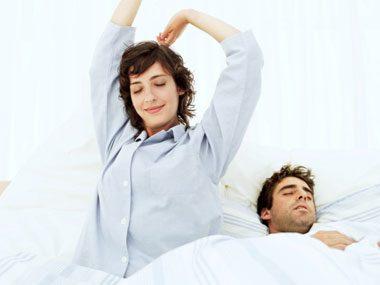 healthy habits sleep quiz stretching