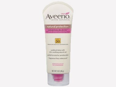 sunscreen excuses Aveeno Natural Protection
