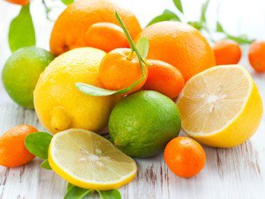 foods that prevent wrinkles citrus fruit