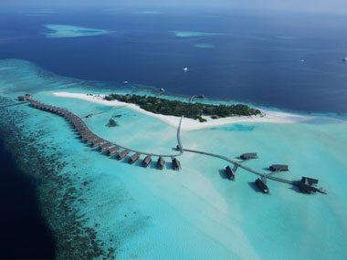 private islands Cocoa Island, Maldives