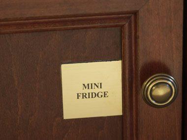 8. Hotel minibar: 400% markup