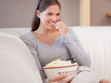 sneaky ways to eat less popcorn