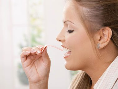 sneaky ways to eat less chewing gum