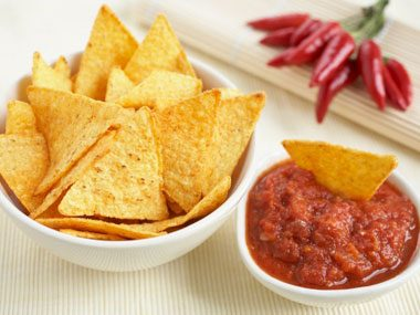 sneaky ways to eat less chips and salsa
