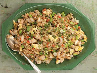Shrimp Stir-Fried Rice