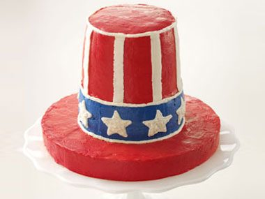 Uncle Sam's Crispy Treat Cake