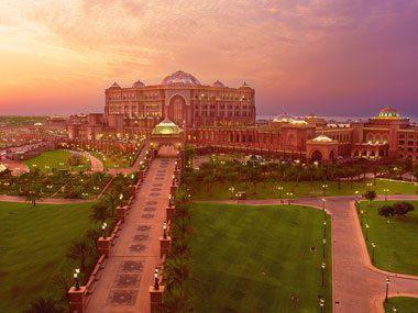 1. Emirates Palace, Abu Dhabi