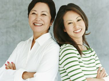 old-age myths, mother daughter