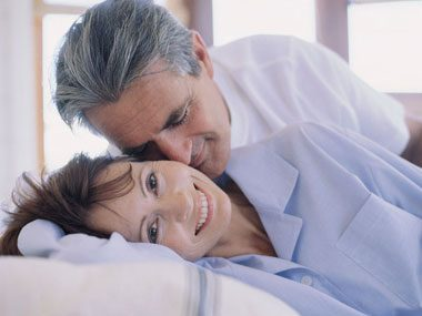old-age myths, couple in bed