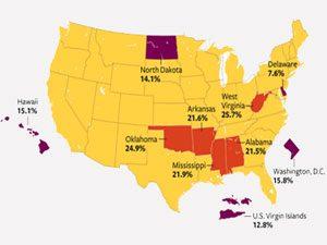 America's sleepiest states
