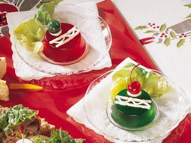 Jell-o Christmas Ornaments