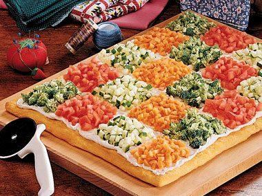 Patchwork Quilt Pizza