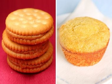 Sugar Showdown: Peanut-Butter Crackers vs. Corn Muffin