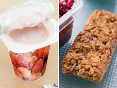 Sugar Showdown: Yogurt vs. Granola Bar
