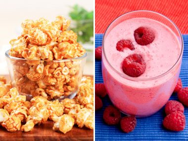 Sugar Showdown: Caramel Popcorn vs. Fruit Smoothie