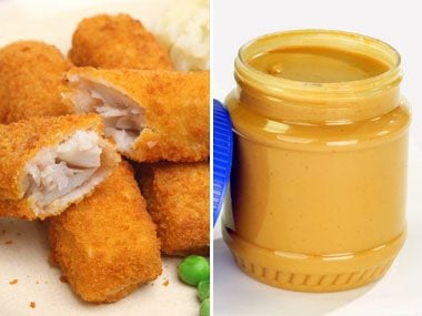 Sugar Showdown: Fish Sticks vs. Peanut Butter