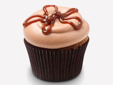 cupcake personality salted caramel