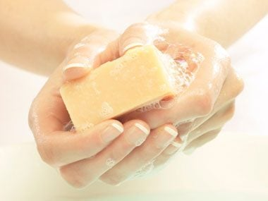 healthy habits germs, washing hands