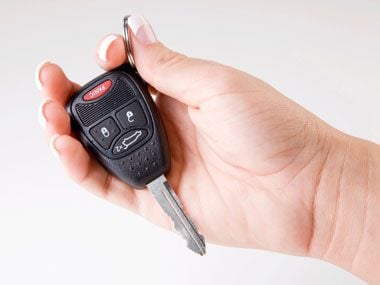 safety strategies, car keys