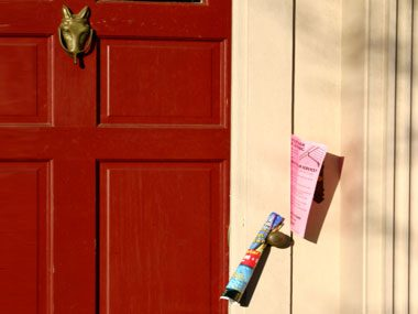 safety strategies, door flyers