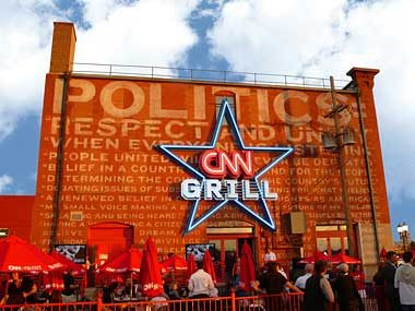 The CNN Grill. Designed with a team at COLLINS: