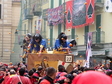 Carnival of Ivrea, Italy