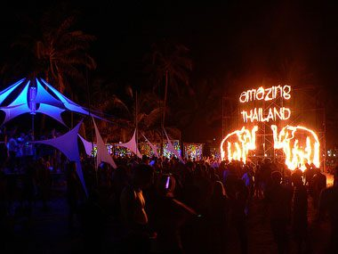 Full Moon Party, Thailand