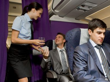 flight attendant secrets, garbage