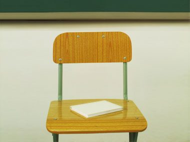 15. My first year of teaching, a fifth-grader actually threw a chair at me.
