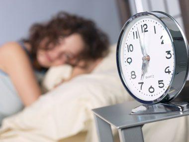 sleep guide, waking up