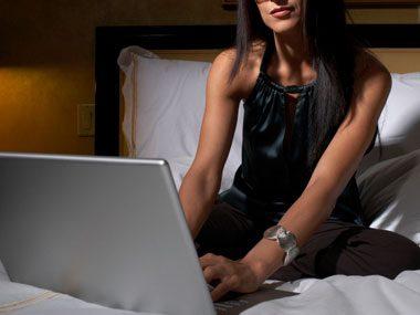 sleep guide, laptop