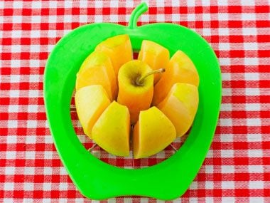 fun with fruit, apple slicer