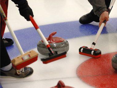 Olympic jokes, curling