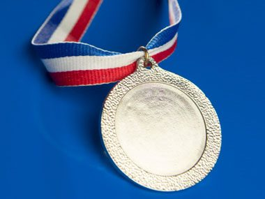 Olympic jokes, silver medal