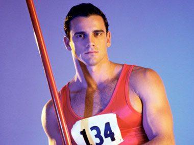 Olympic jokes, pole vaulter