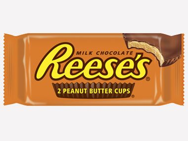 1. Reese's Peanut Butter Cups