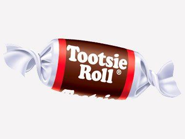 8. Tootsie Rolls