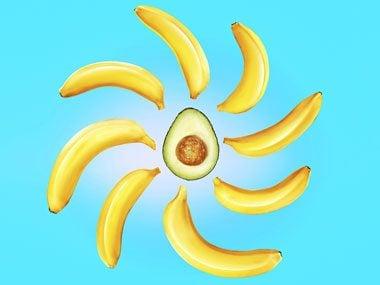 energize your life, bananas avocado