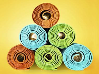 10. Hit the yoga mat to relieve pain.
