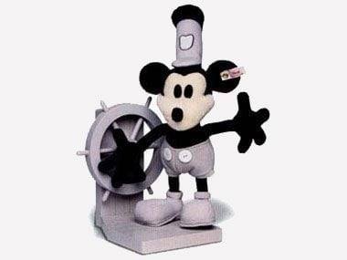 Steiff Disney Mickey  Mouse Doll