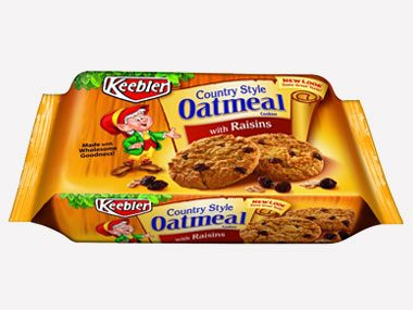 healthy eating on a budget, Keebler Oatmeal Cookies