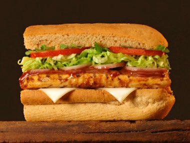 healthy eating on a budget, chicken sandwich