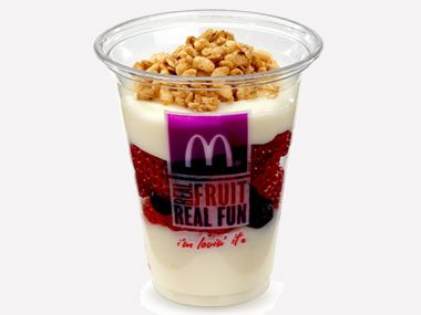 healthy eating on a budget, McDonald's fruit and yogurt parfait