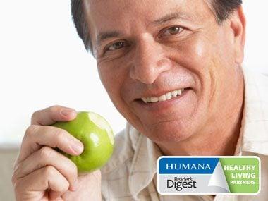 healthy habits prevention apple, Humana logo