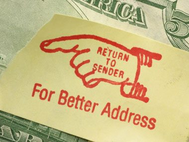 mail carrier secrets, wrong address